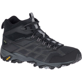 Merrell Moab FST 2 Mid GTX Shoes Men All Black